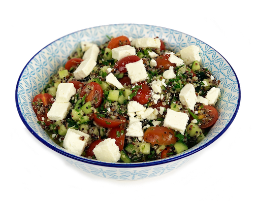 Tri-Color Quinoa Tabouleh